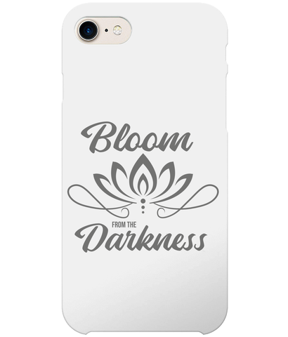 Bloom From The Darkness iPhone 8 Full Wrap Case