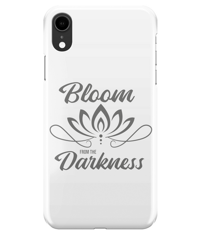Bloom From The Darkness iPhone XR Full Wrap Case