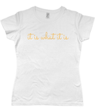 """It is what it is"" 