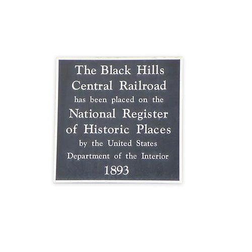 Cast Aluminum National Register Plaque