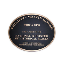 Load image into Gallery viewer, Cast Bronze National Register Plaque