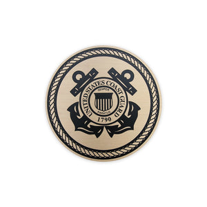 Etched Bronze Military Seal