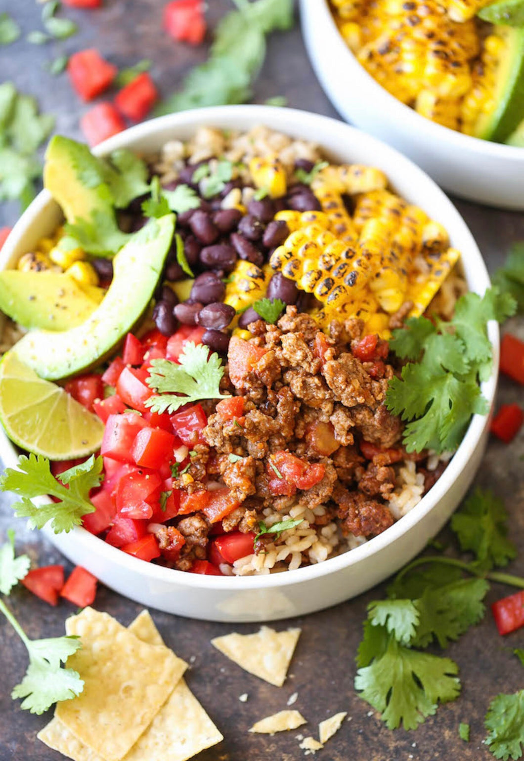 hiitide chicken taco bowl