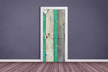 Mixed colored planks - DIY SKINS, , Doors, DIY SKINS, 3d Murals, DIY SKINS Diyskins.com