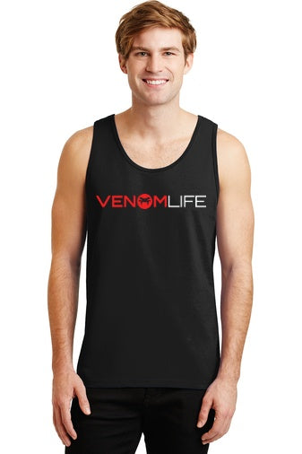 Men's black tank top, summer, soft cotton