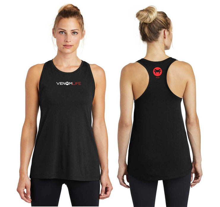 Ladies Women's Dry Wick Tank top Black for exercise, working out, yoga, health and fitness