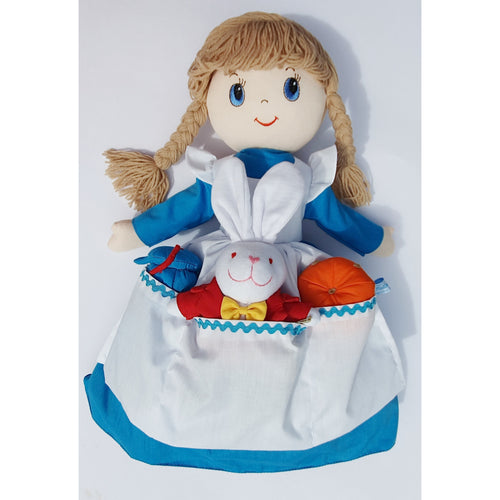 Alice in Wonderland Story Doll