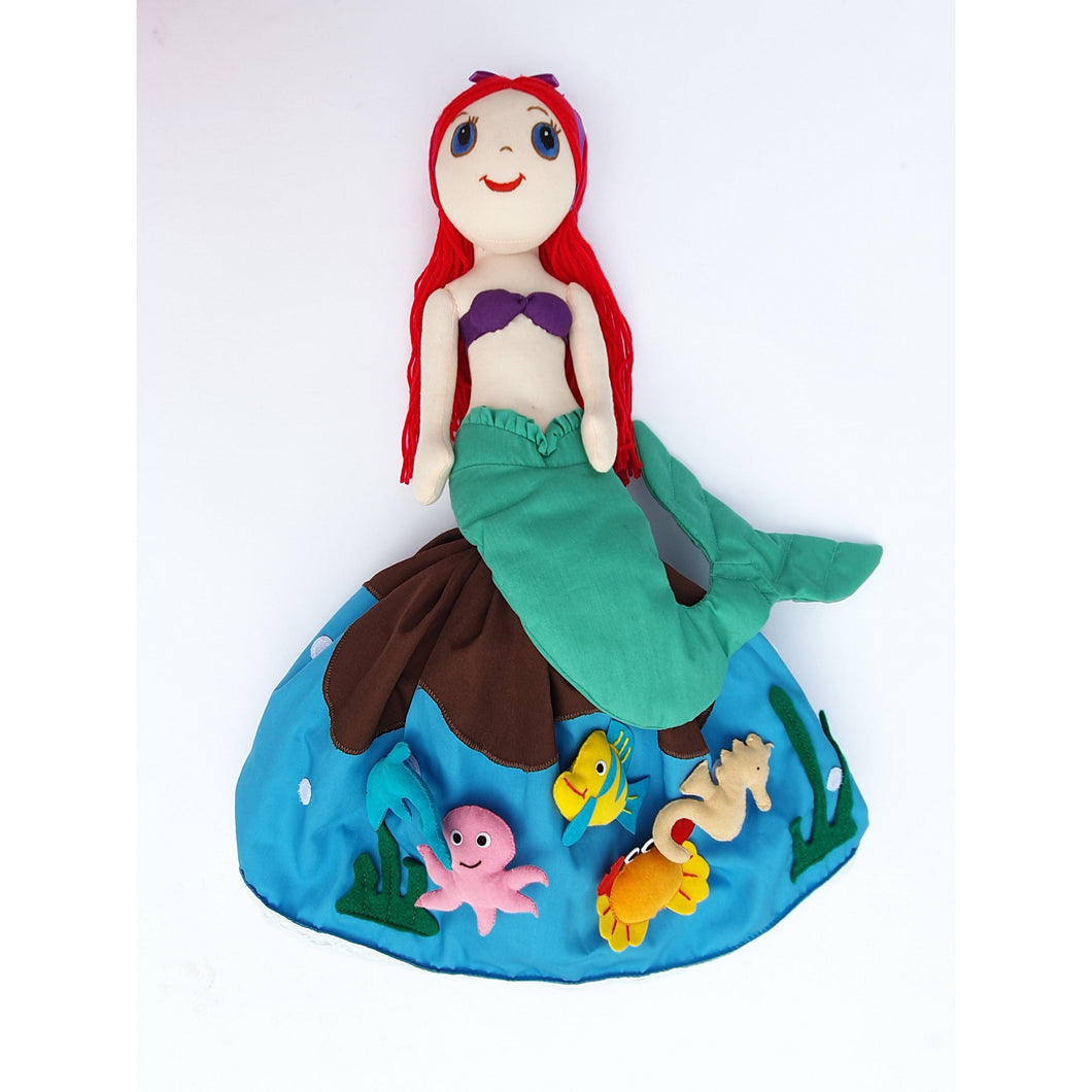 The Little Mermaid Story Doll