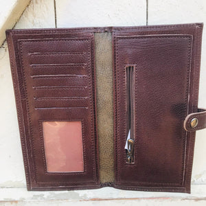 Leather Wallet Large
