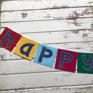 "Bunting - ""Happy Birthday"""