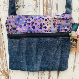 Mini Denim Shoulder Bag