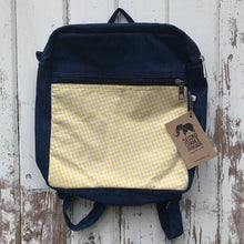 Load image into Gallery viewer, Denim Backpack