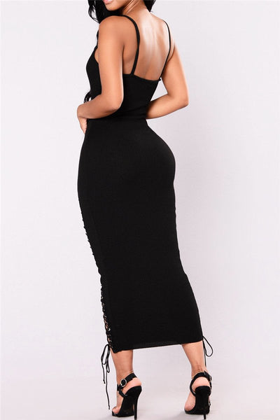 Cami Bandage Maxi Dress - ezcute