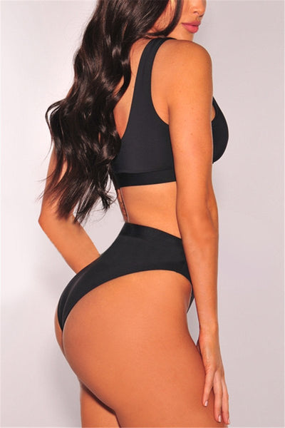 High Waist Bikini Set - ezcute