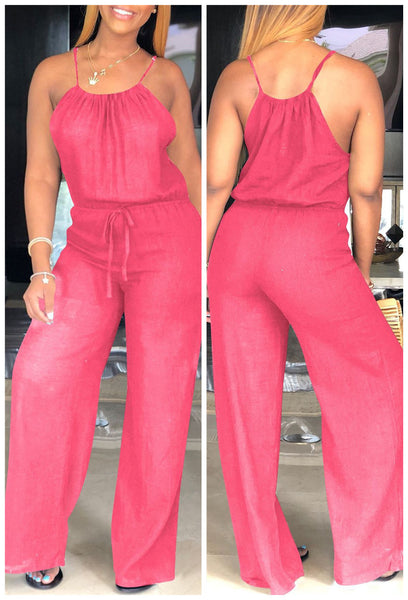 Cami Relaxed Wide Leg Jumpsuit - ezcute