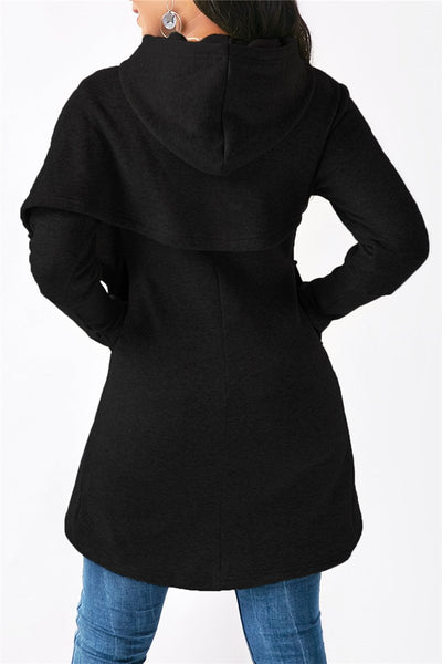 Plus Size Thickened Hoodie - ezcute
