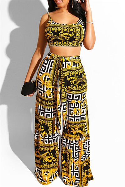 Printed Wrap Two PC Sets - ezcute