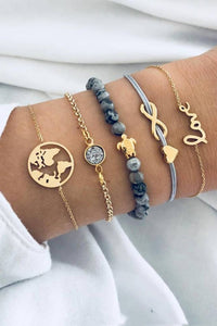 Chic 5-piece Bracelet - ezcute