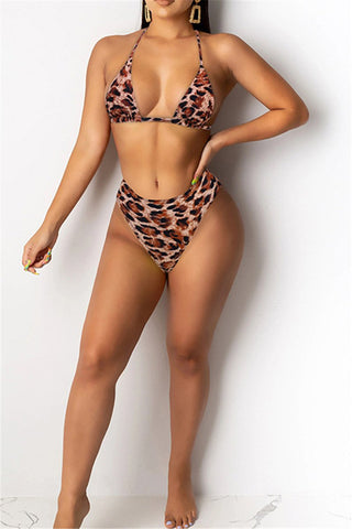 Printed Bikini Swimwear - ezcute