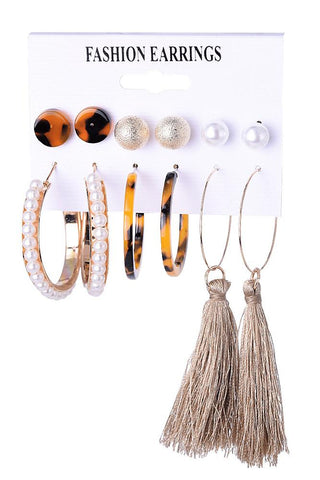 Tassel  Alloy Earring Sets