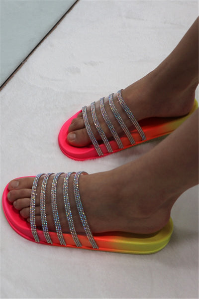 Transparent Color Changing Beach Slippers
