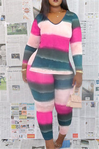 Stripe Split Two PC Sets
