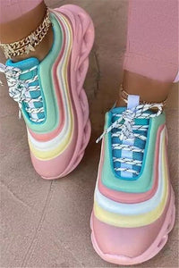 Color Changing Bandage Sneakers
