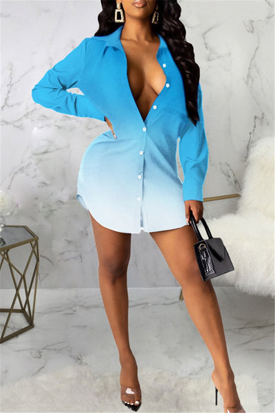 Color Changing Shirt Dress