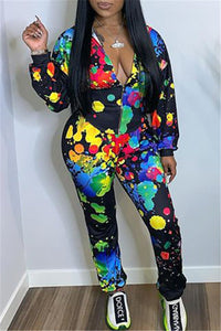Graffiti Printed Womens Clothing