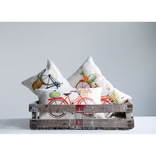 Load image into Gallery viewer, Cotton Bicycle Pillow, 3 Styles