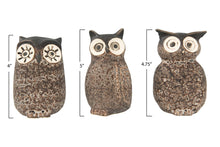Load image into Gallery viewer, Stoneware Owl Vase, 3 Styles