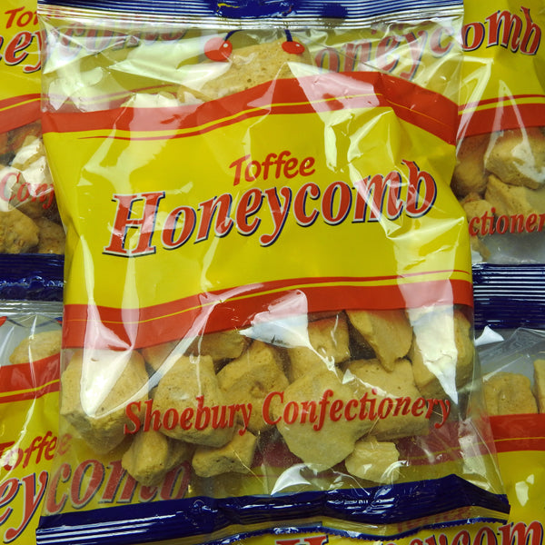 Honeycomb Cinder Toffee - Retro Sweets at The Sweetie Jar