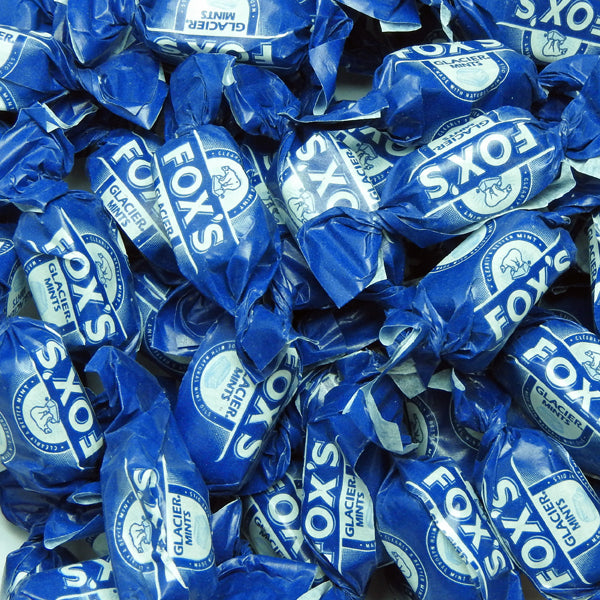Foxs Glacier Mints : 200g - Mint Flavoured Boiled Sweets