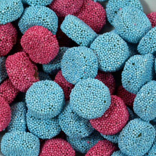 Jelly Spogs : 200g - Aniseed Flavour Jellies Coated with Non-Pareils