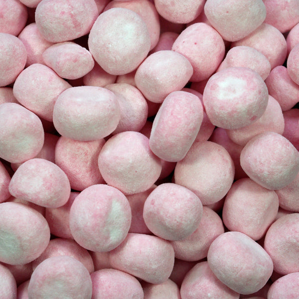 Strawberry Bonbons : 200g - Sugar Dusted Strawberry Flavoured Chewy Sweets