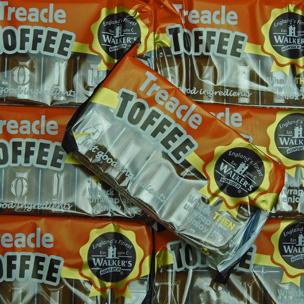 Treacle Toffee Slabs : 2 x 100g  - Whack THEN Unwrap and Enjoy x