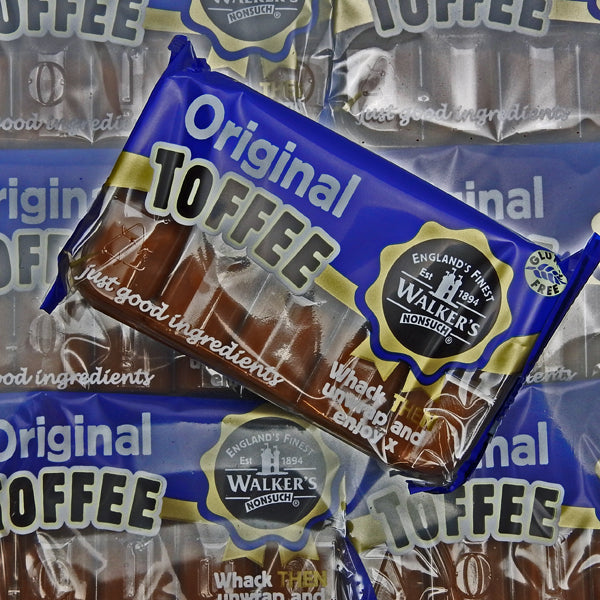 Original Toffee Slabs : 2 x 100g - Whack THEN Unwrap and Enjoy x