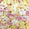 ABC Alphabet Letters - Retro Sweets from the 80s