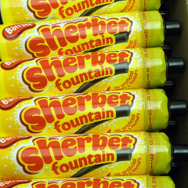 Sherbet Fountains : x6  - Sherbet with a Liquorice Dip