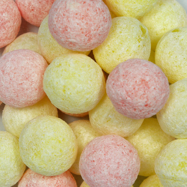 Orange and Lemon Fizz Balls - Retro Sweets at The Sweetie Jar