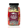 A Jar of Chocolate Treats - For Nostalgic Retro Choccy Sweets
