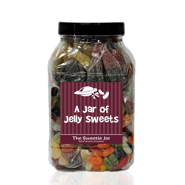 A Jar of Jelly Sweets  - All Sorts of Jelly Sweets