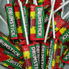 Drumsticks Chewy Lollies : x10 - Milk and Raspberry Flavour Chewy Lolly