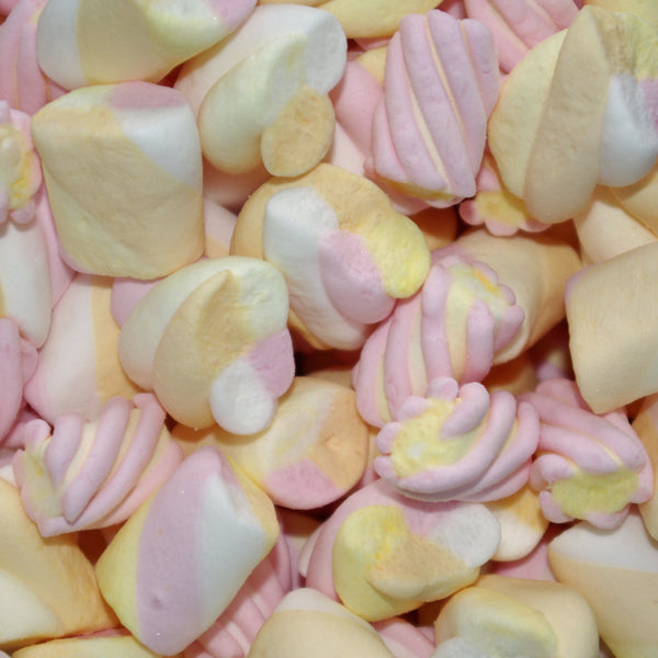 Mallow Mix : 100g - A big, squidgy marshmallow selection
