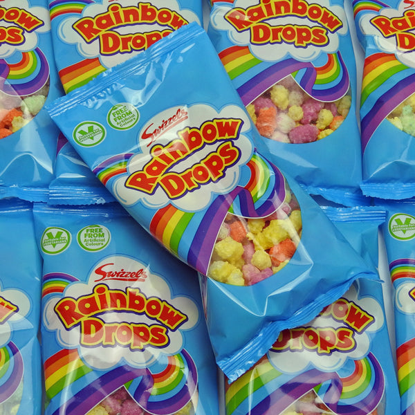 Rainbow Drops : x10 - Sugar Coated Puffed Maize and Rice