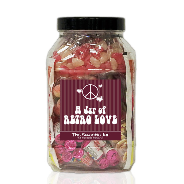 A Large Jar of Retro Love - All Sorts Of Sweets for the Retro Romantics