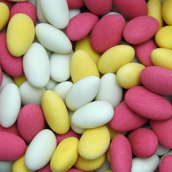 Sugared Almonds : 200g - Almonds Encased In A Crisp Sugar Coating