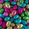 Foiled Milk Chocolate Mini Eggs : 200g - Solid Milk Chocolate Pieces