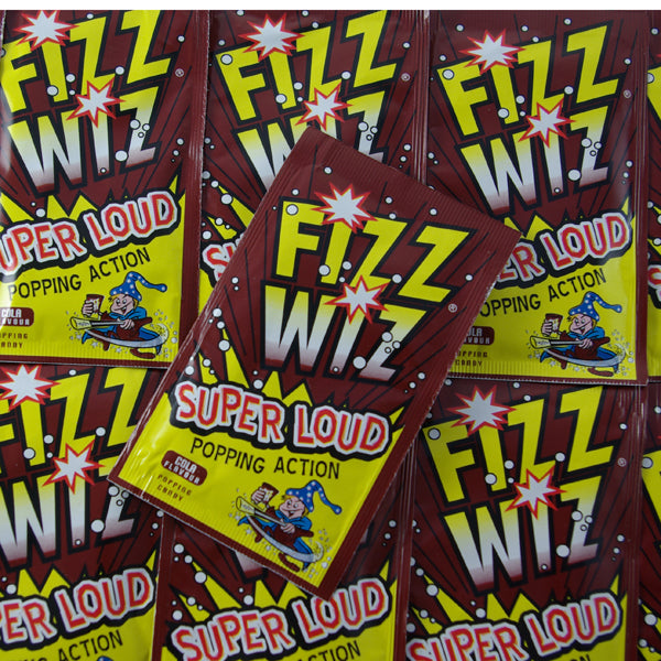 Fizz Wiz Cola Popping Candy : x7 - Popping Candy, Cola Flavour
