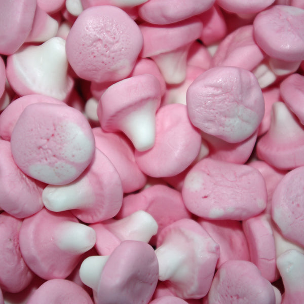 Foam Mushrooms - Retro Sweets at The Sweetie Jar
